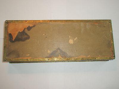 Vintage 1910 Apollo Studios NY Hammered Copper Arts & Crafts Wood Lined Desk Box 11