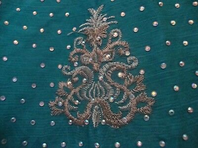 Pakistani Unstitched Designer Shalwar Kameez Crinkle Material Heavy Embroidery