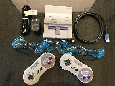 Authentic SNES Super Nintendo Classic Mini Super Entertainment System  21 Games 2