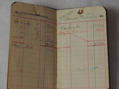 Campesinos y Merchants Nacional Bank Cartilla Hanford Calif. 1914 2