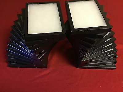 24 Pack of Riker Display Cases 6 x 8 x 3/4 for Collectibles Jewelry & More