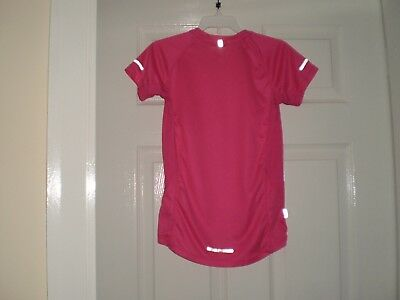 "T-Shirt "" Karrimor ""RUN Pink Size: Age:13  Years,Eur 158  Used 3"