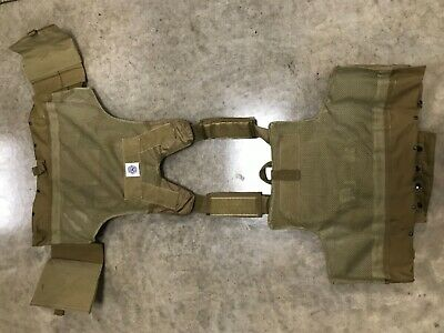 Tactical Vest COYOTE Tan Plate Carrier BODY ARMOR Military Matches Multicam 9