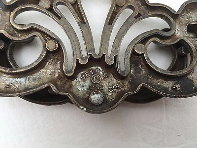 Antique Hardware Vintage Brass Batwing Chippendale Drawer Pull 3 1/2 inch center 6