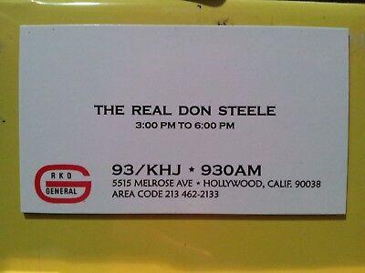 93/KHJ SEPTEMBER 19 1978 Boss SURVEY #685 GREASE CD & REAL DON STEELE MAGNET 9
