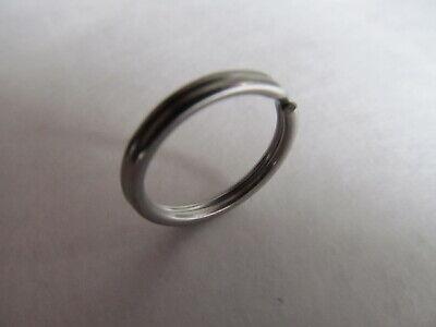 """20mm 316 Stainless Steel Key Rings HEAVY DUTY Split Fishing Scuba 10 pack 3/4"""" 7"""
