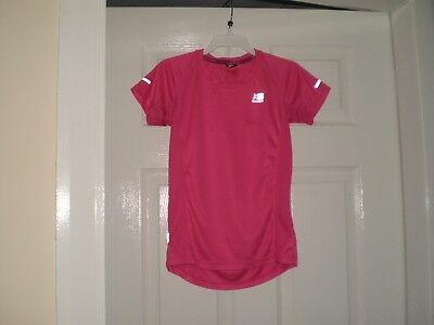 "T-Shirt "" Karrimor ""RUN Pink Size: Age:13  Years,Eur 158  Used 6"