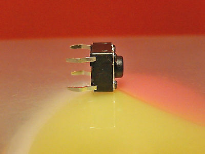 25x Momentary Tactile Push Button Switch SPST 6x6mm x 4.3mm DTS-61KV DIPTRONICS