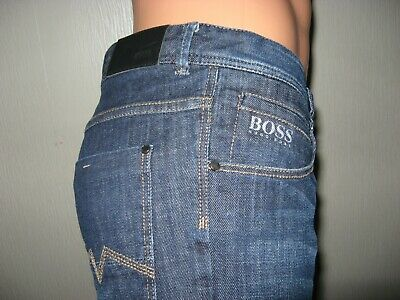 Worn Once Boys Genuine Hugo Boss Dark Wash Classic Straight Leg Jeans Age 14-16 3
