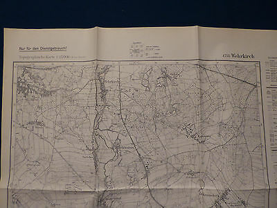 Landkarte Meßtischblatt 4755 Wehrkirch, Horka, Krs. Rothenburg, Görlitz, 1939