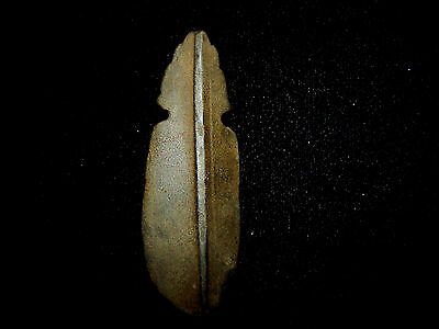 Pre-Columbian Avian Ceramonial Pendant with Headdress, Masked and Wings 6