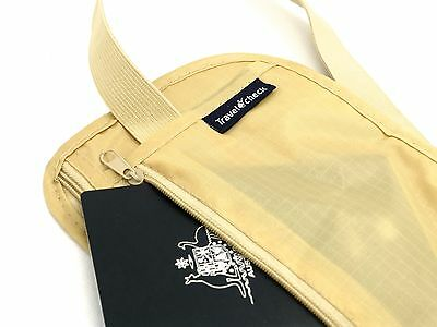 Travel Pouch Security Tips Travel Passport Secret Waist Belt Bag Secure Wallet 4