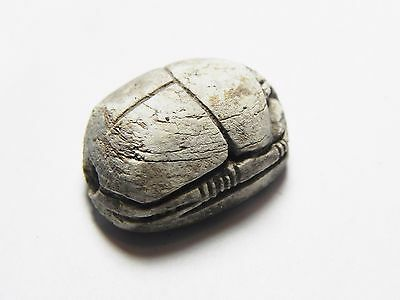 Zurqieh -Cy131-  Ancient Egypt, New Kingdom. Stone Scarab 1400 B.c