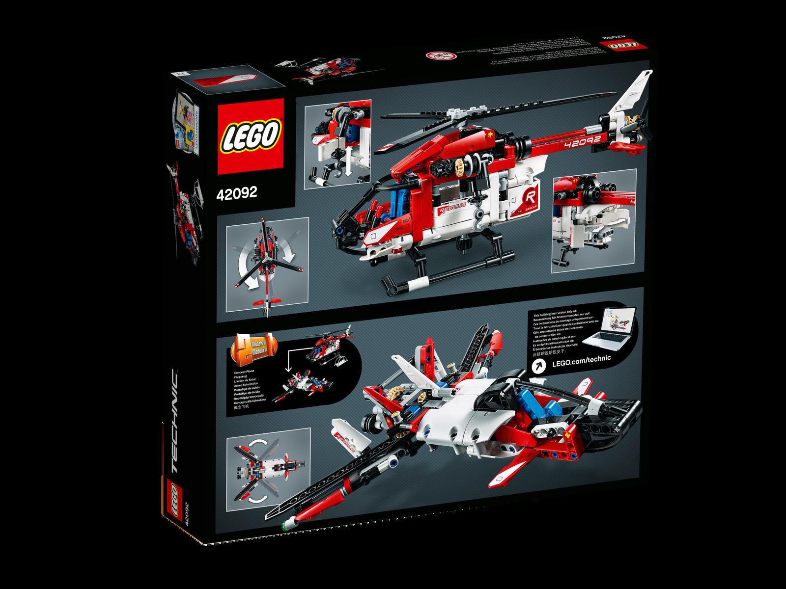 42092 Rettungshubschrauber /& 0.-€ Versand /& NEU /& OVP ! LEGO® Technik