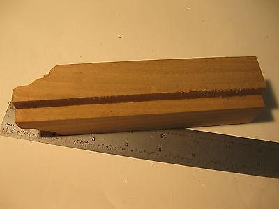 """Poplar Keystone Plain 4-3//4x4/""""x2-3//4x1-1//16/"""" Unfinished Door Window Trim 888"""