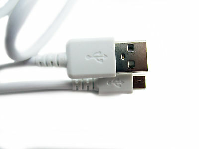 90cm USB White Charger Power Cable for Logitech Harmony 350 Remote Control