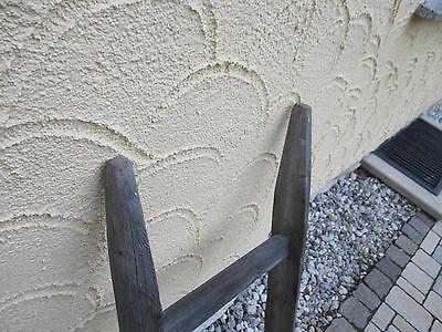 alte Holzleiter(50) Deco Blumenampel Baumleiter Handtuchhalter Kleiderhalter 4