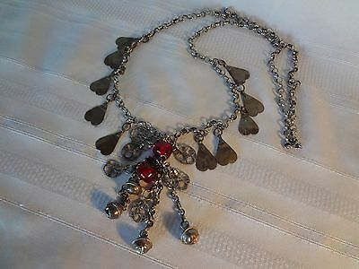 Ottoman Antique Jewelry Silver Necklace Rare And Gorgeous 2