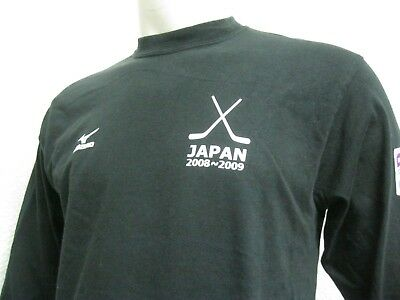 Ancien MAILLOT T-SHIRT JAPAN ICE HOCKEY FEDERATION TEAM 2009 WOMEN U18 sur Glace 3