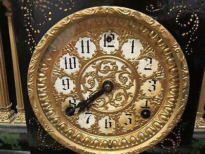 ATTLEBORO MANTLE CLOCK BY iNGERSOL---OUTSTANDING PIECE-------------------hg 3