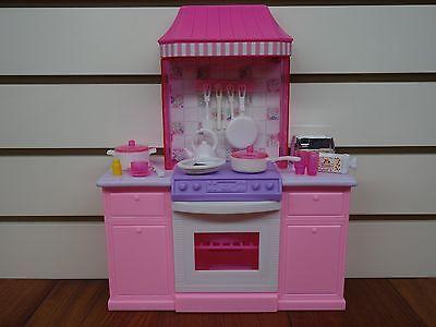 Bon 2 Of 7 Gloria,Barbie Doll Furniture/(9986) My Fancy Life Deluxe Kitchen