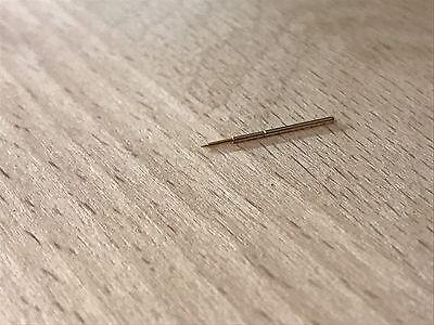0,65 mm mikro Präzisions Prüfstift Leiterplattenprüfung Federkontakt Gold Pin