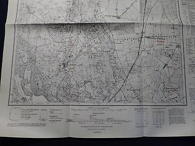 Landkarte Meßtischblatt 3561 Lewitz i.d. Neumark, Reichsgau Wartheland, 1940