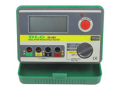 DLG Digital Insulation Resistance Tester Megger MegOhmmeter Meter 1000V DI-301 2