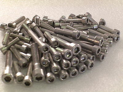 Yamaha RS100 76-81 Engine Covers Stainless Steel Allen Screw 27pc Bolt Kit A2-70