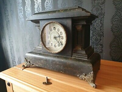 19th Century Anerican Mantle Clock - William Gilbert & Co. 3