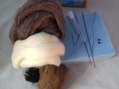 Herdwick British Rare Breeds sheep  needle felt kit  UNBOXED WULYDERMY 7