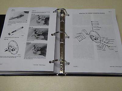 CASE 580K (PHASE 3) Loader Backhoe Service Manual Repair Shop Book NEW  w/Binder