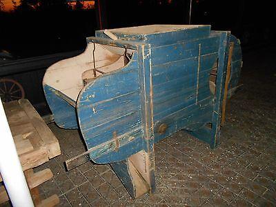 Reinigungsmaschine antik bäuerliche Gerätschaft 2