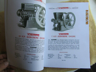 Toronto Gas Engine Catalog, All Nelson Brothers Engines, Ontario Wind Engine Co. 5