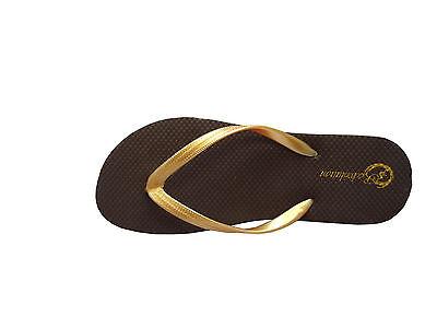 , New  Women Floral Print Two Toned Beach Flip Flop Sandals size--印花(388L