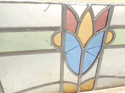 Vintage Stained Glass Window Panel (3255)NJ 5