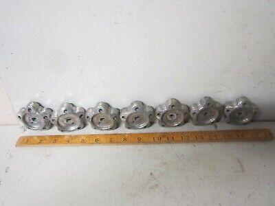 lot 7 vintage valve knobs handle stars cabinet drawer pulls industrial steampunk 2
