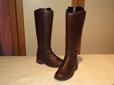 6928e706a66 ... Ugg® Australia Seldon Chocolate Leather Knee High Boots Uk 4.5 Eur 37  Rrp £180