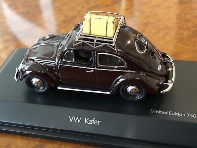"Schuco 1:43 VW Kafer - Käfer Teilung Fenster "" Sommer 1951 "" #Shu00726 9"