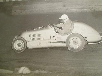 VINTAGE MIDGET RACE CAR Racing Photo Offy 8x10 by Jack Fox