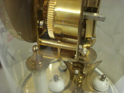 """Day clock 400 Days """" Anniversary """" Complete whit Glass for parts or repair 8"""