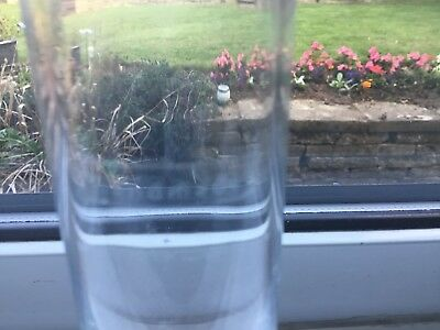 Handmade Glass Bud Vase / Clear Glass 4