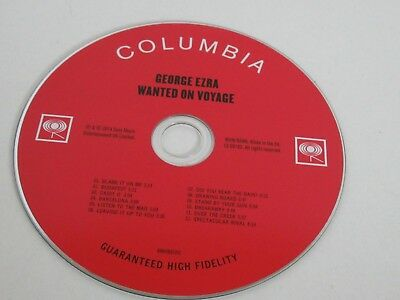 George Ezra / Wanted on Voyage (Sony Music 888430 32252 3)CD Album 2