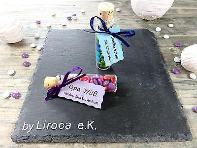 20x Gastgeschenk Tischkarte Taufe Kommunion Hochzeit