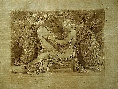 Adamo Scultori ´viktoria; Victory; La Vittoria´ B. 105, Kupferstich, ~1565 5