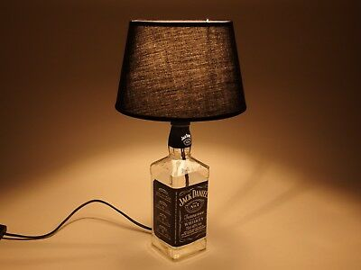 Jack Daniels - Flaschen Lampe Tischlampe LED 220V mit Schalter ORIGINELL S2 0,7L 2