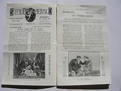 STOLL ATTRACTIONS PROGRAM 1928 91 years old! 2