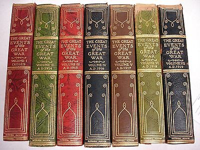 1923 Great Events of the Great War - 7 Volumes 2