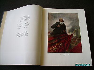 Rare  Russia 1953 Architecture Of Leningrad , Huge Illustrated Book 3
