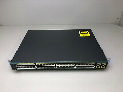 Cisco WS-C2960G-24TC-L • 24-Port Gigabit Ethernet Switch ■■SameDayFastShipping■■